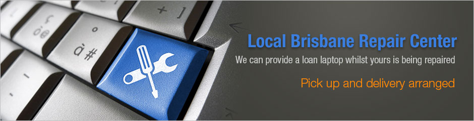We can provide a loan laptop whilst your is being repaired. Local Brisbane Repair Center | Pick up and delivery arranged