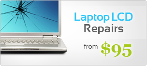 Laptop LCD repairs from $129