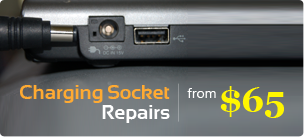 Charging socket repair from $65